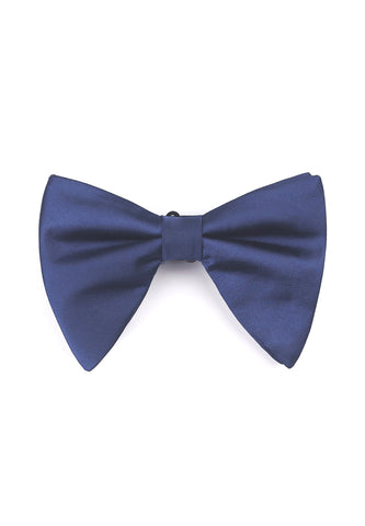 Farfalla Series Dark Blue Bow Tie