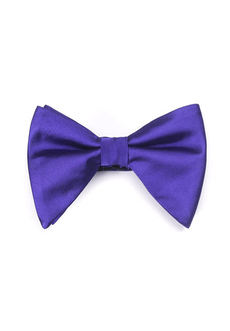 Farfalla Series Purple Bow Tie