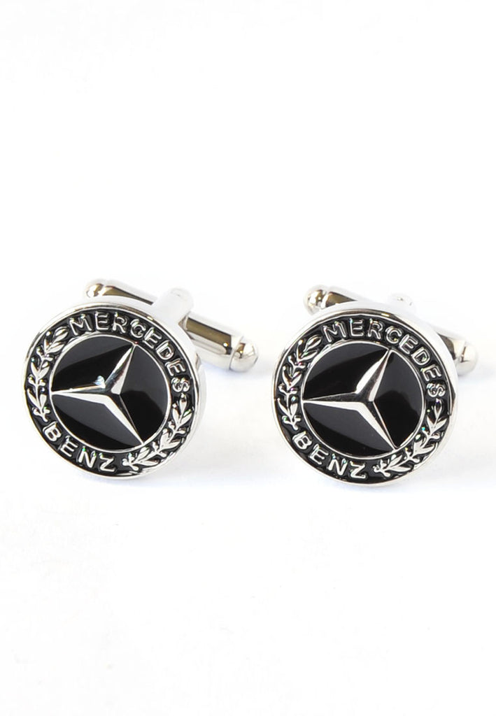 Mercedes Benz Badge Cufflinks