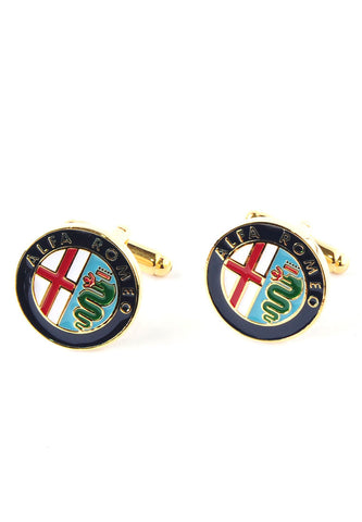Alfa Romeo Badge Cufflinks