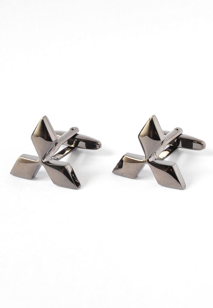 Mitsubishi Badge Cufflinks
