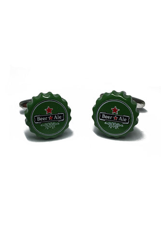 Beer Bottle Caps Cufflinks