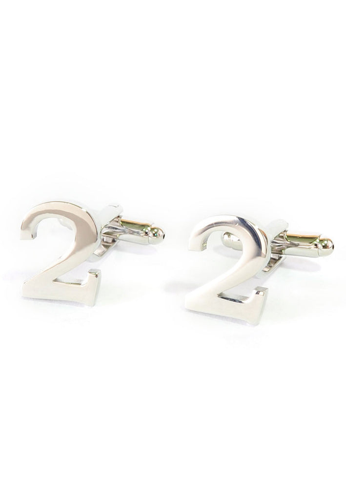 Number Two 2 Cufflinks