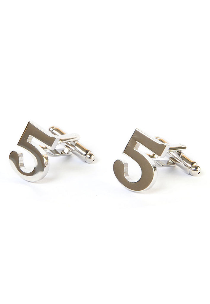 Number Five 5 Cufflinks
