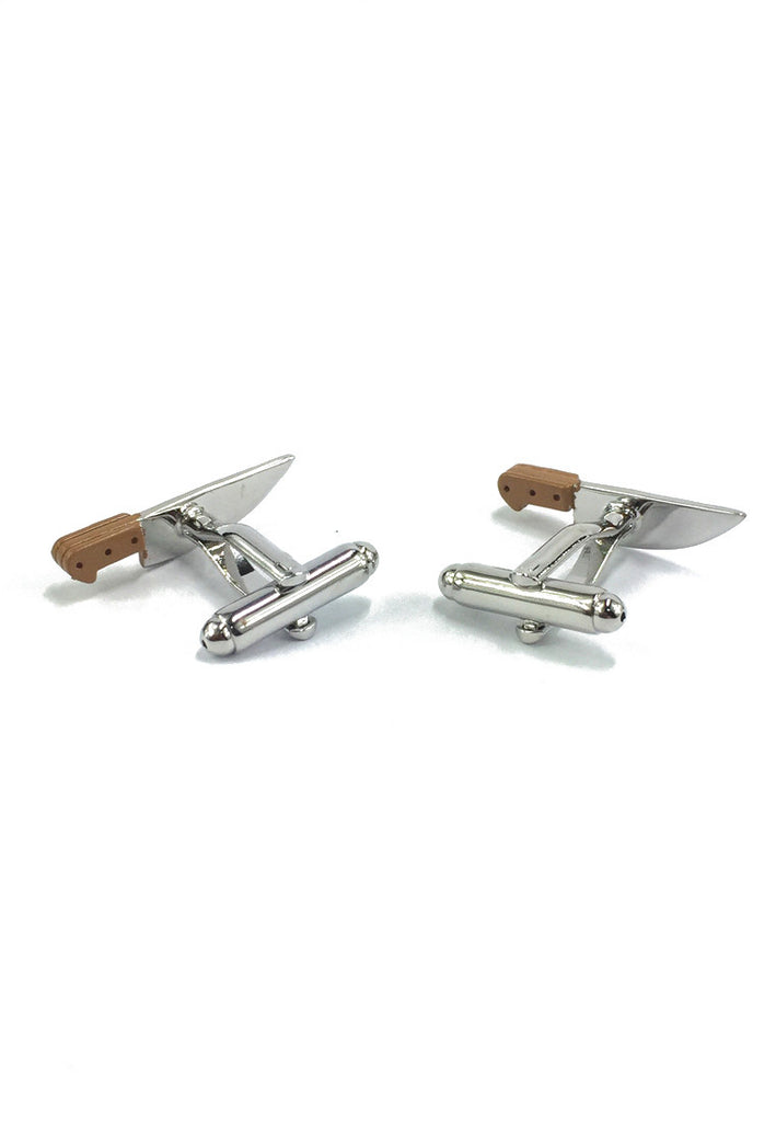Kitchen Knife Cufflinks