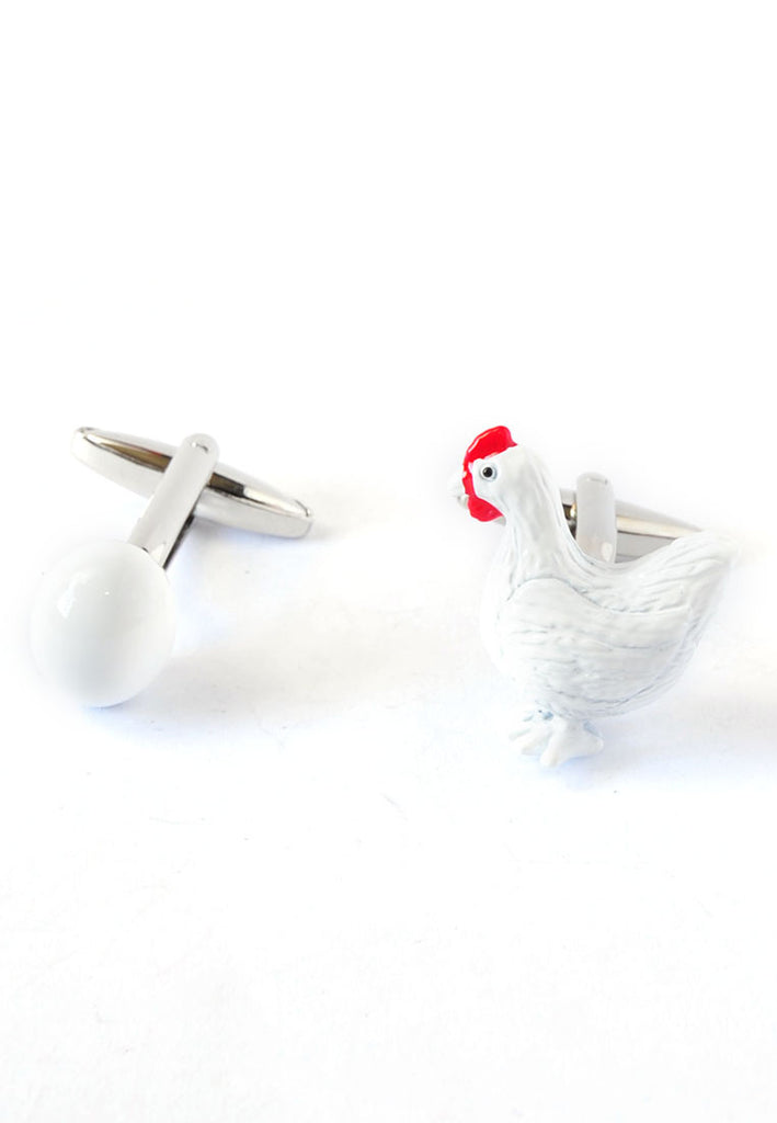 Chicken & Egg Cufflinks