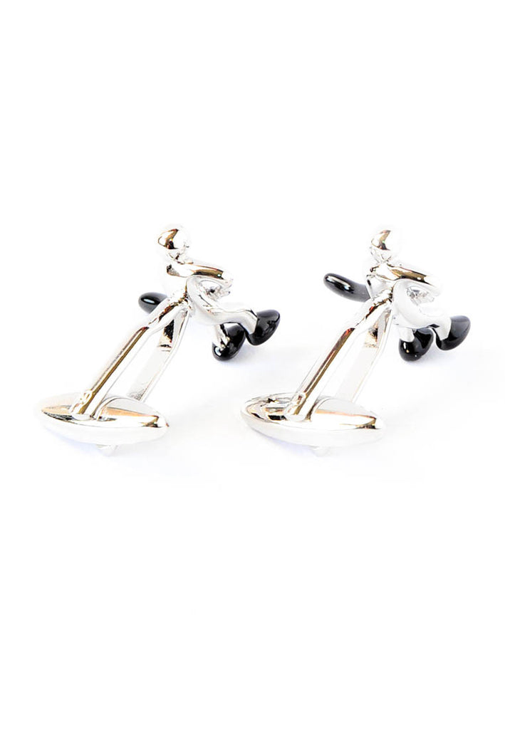 Ice Hockey Player Sport Cufflinks