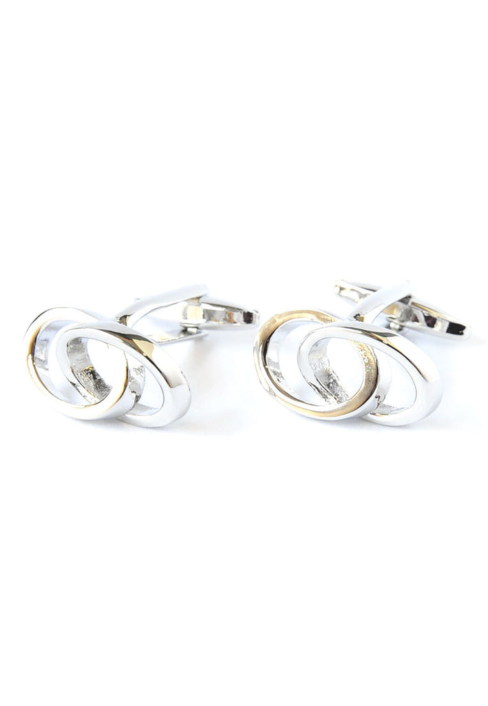 Joined Wedding Rings Cufflinks