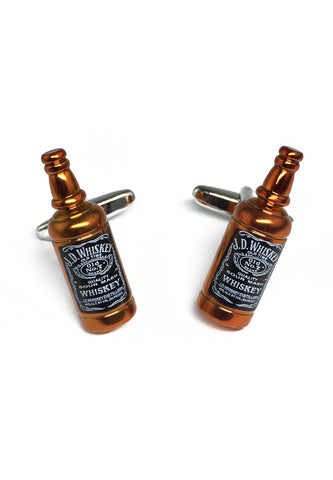 Whiskey Bottle Cufflinks