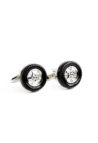 Tyre & Wheel Cufflinks