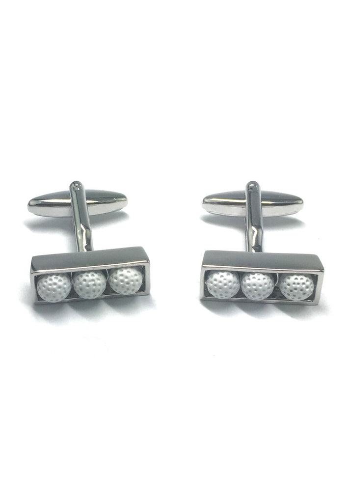 Golf balls in box Cufflinks