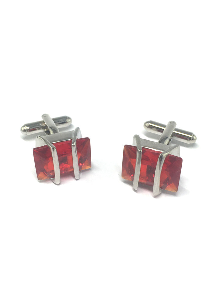 Red Gem Cufflinks