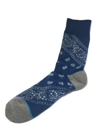 Henna Series Blue Socks