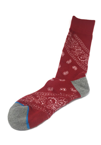 Henna Series Red Socks