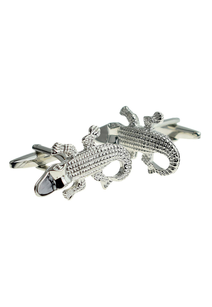 Crocodile Alligator Cufflinks