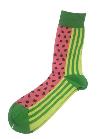 Gourmet Series Watermelon Prints Design Socks