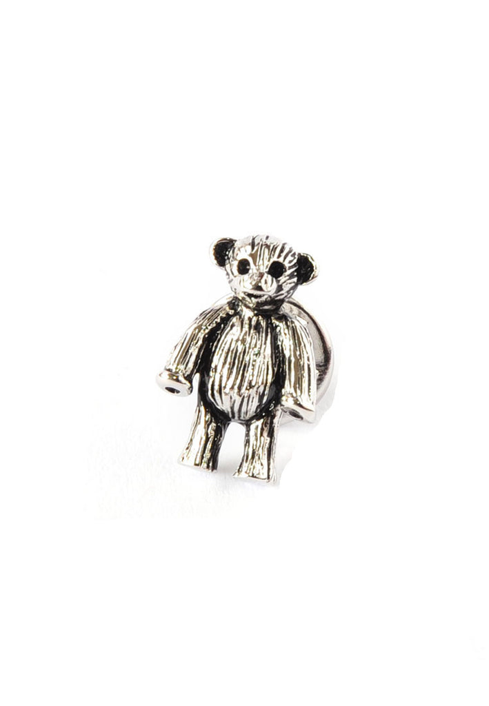 Teddy Bear Lapel Pin Badge