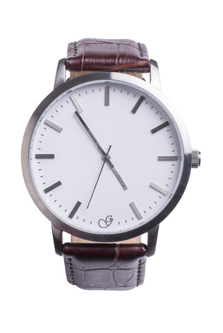 Gaxs Adam Smith Brown Watch