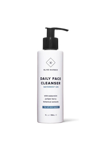 Blind Barber DAILY FACE CLEANSER - Watermint Gin