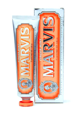 Marvis Ginger Mint Toothpaste – 75ml