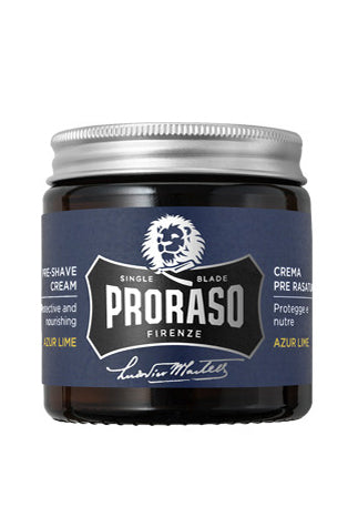 Proraso Pre-Shave cream: Azur Lime, 3.6 oz (100 ml)