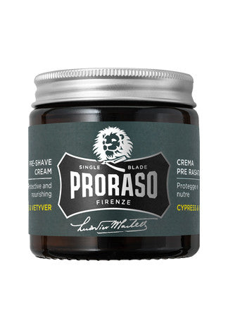 Proraso Pre-Shave cream: Cypress & Vetyver, 3.6 oz (100 ml)