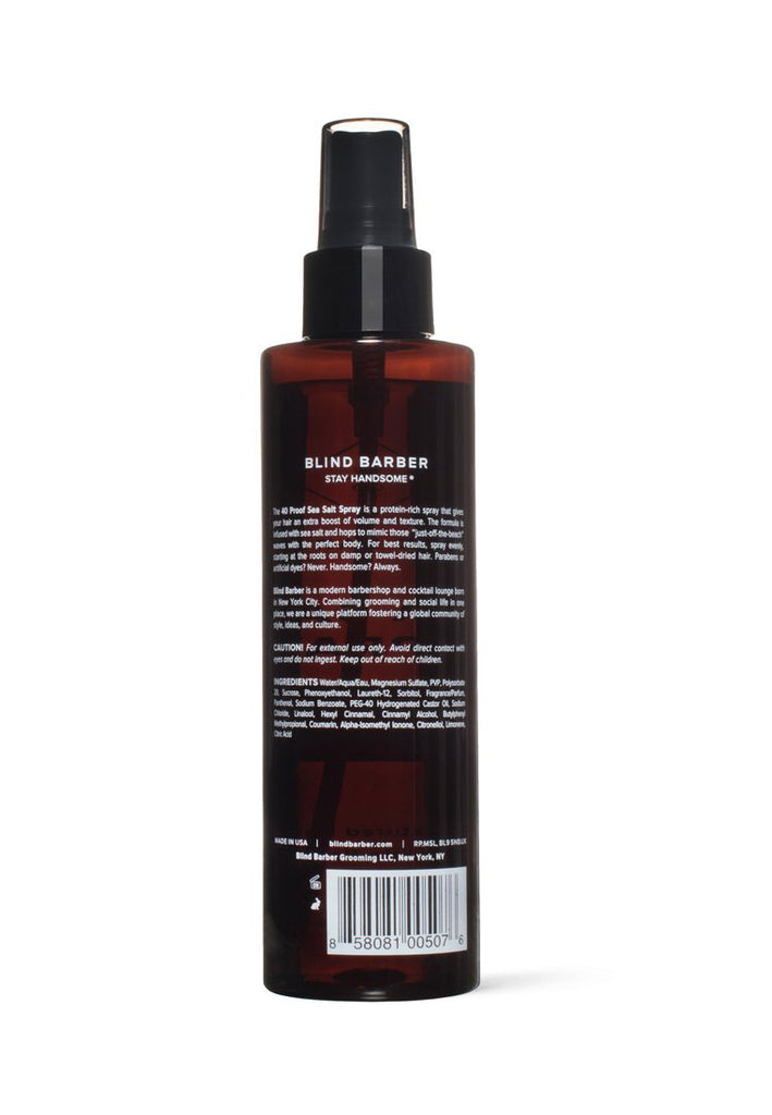 Blind Barber 40 PROOF SEA SALT SPRAY - Textured Hold - Matte Finish