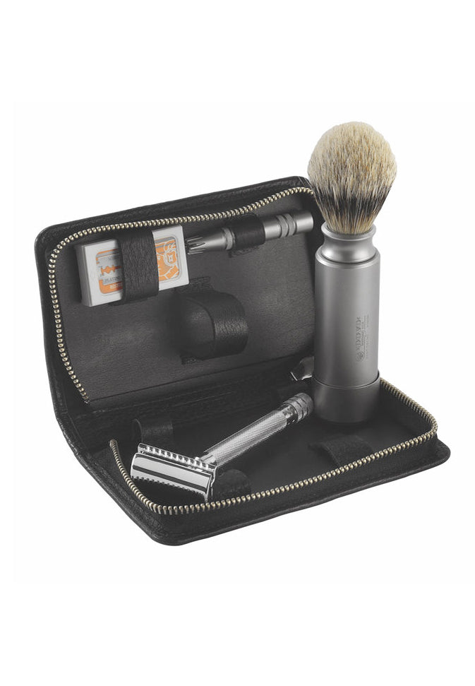 Merkur Safety Classic Black Shaving Set 554016