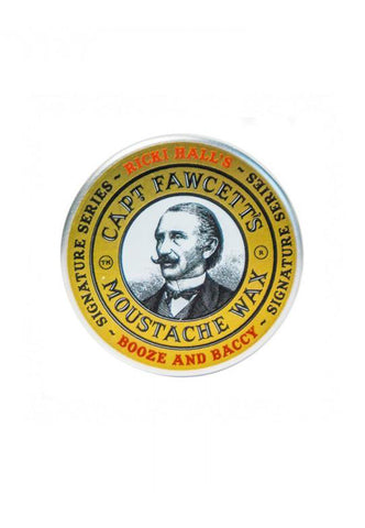 Captain Fawcett - Ricki Hall Booze and Baccy Moustache Wax