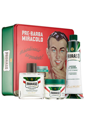 Proraso Vintage Gino Tin Refreshing and Toning Formula