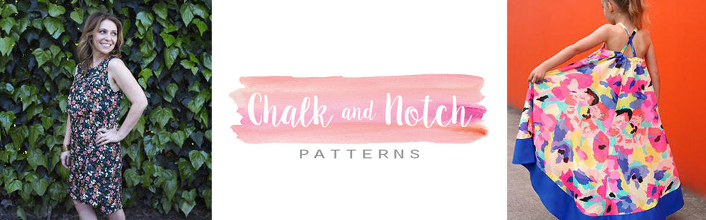 Chalk and Notch sewing patterns