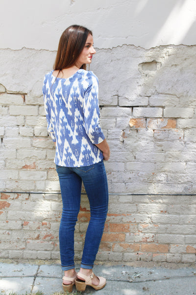 The Sara Project Everyday Blouse sewing pattern testing