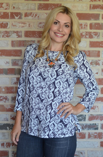 Everyday Blouse modern PDF sewing pattern UpCraft Club