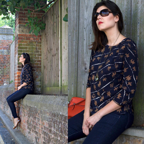 Everyday Blouse pdf sewing pattern by House of Pinheiro