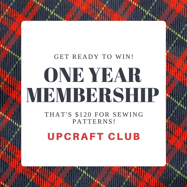 win a one year membership to UpCraft Club
