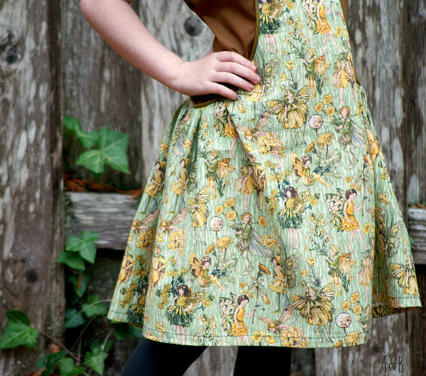 Antalya dress sewing pattern UpCraft Club Willow and Co