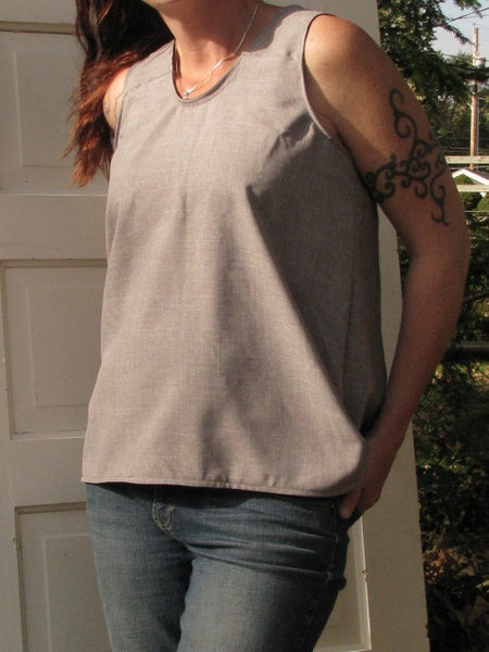 Genavieve Tank sewing pattern