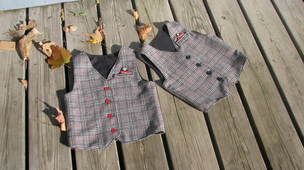 Schoolboy Vest by Sew Much Ado modern sewing pattern UpCraft Club