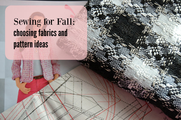 Apparel Fabrics for Fall sewing