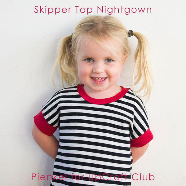 Skipper Top modern sewing pattern Sew Much Ado