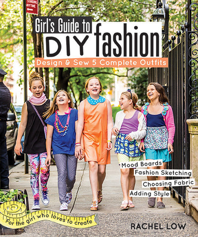 Girl's Guide To DIY Fashion E-Book