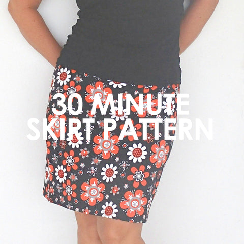 Thirty Minute Skirt