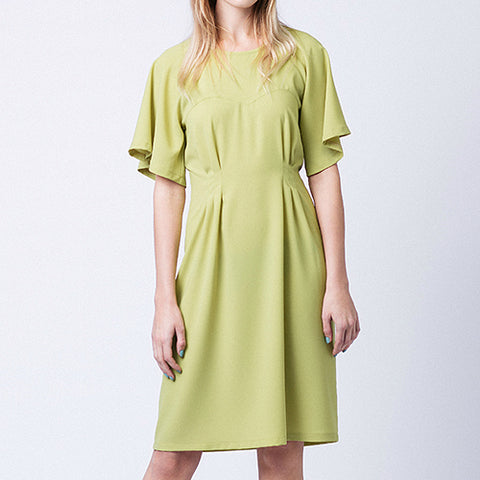 Ansa Butterfly Sleeve Dress (& Top)