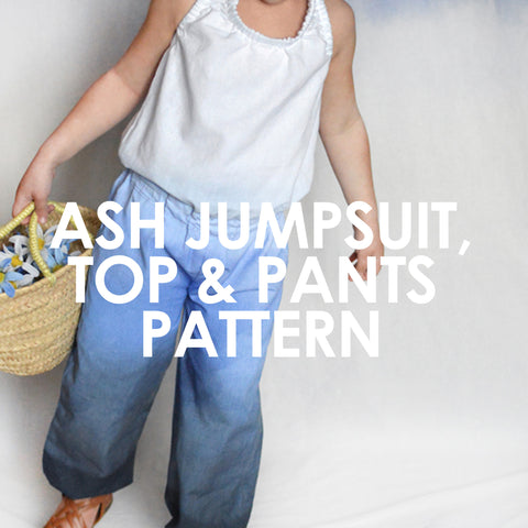 Ash Jumpsuit, Top & Pants