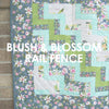 Blush and Bloom Rail Fence Centerpiece pattern