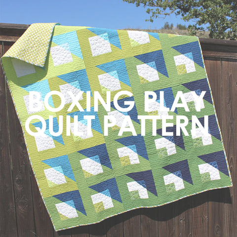 Boxing Play Quilt Pattern