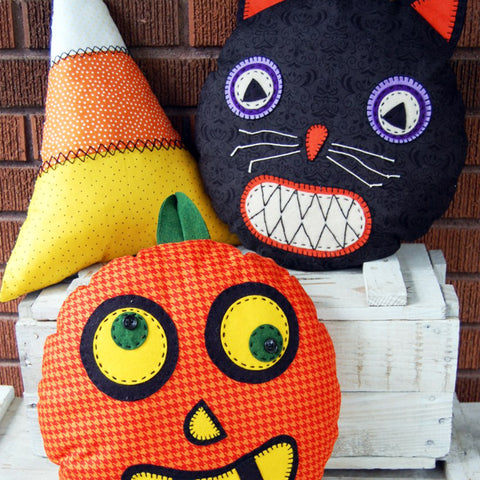 Bewitching Beasties Halloween Pillows