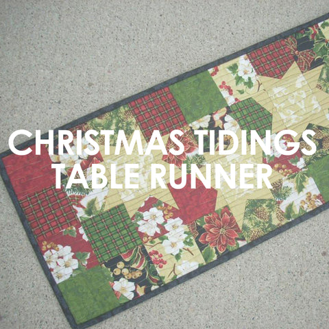 Christmas Tidings Table Runner pattern