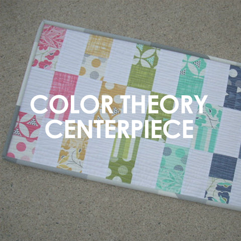 Color Theory Centerpiece pattern