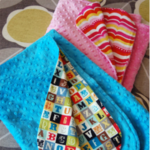 Baby Cuddle Blanket and Burp Cloth